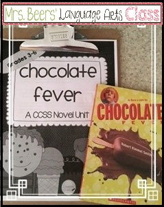 https://www.teacherspayteachers.com/Product/Chocolate-Fever-CCSS-Novel-Unit-for-the-Middle-Grades-990749