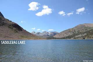 Saddlebag Lake, Californie