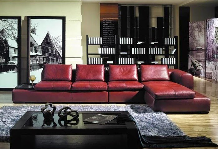 Living room design catalog living room decorating ideas for Living room ideas with burgundy sofa