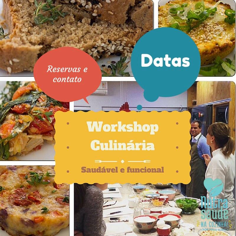 Workshop Alimentação e Culinária Saudável