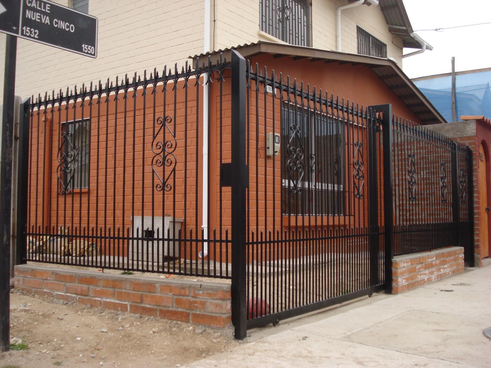 Fotos de portones y rejas de hierro modernas hogar muebles for Rejas y portones