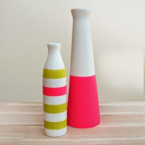 Ma Bicyclette - Buy Handmade - Ceramics - Shade on Shape - Neon Vases