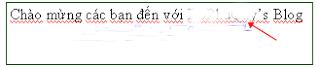 Office tips Bỏ gợn sóng màu đỏ hoặc xanh dưới văn bản Word