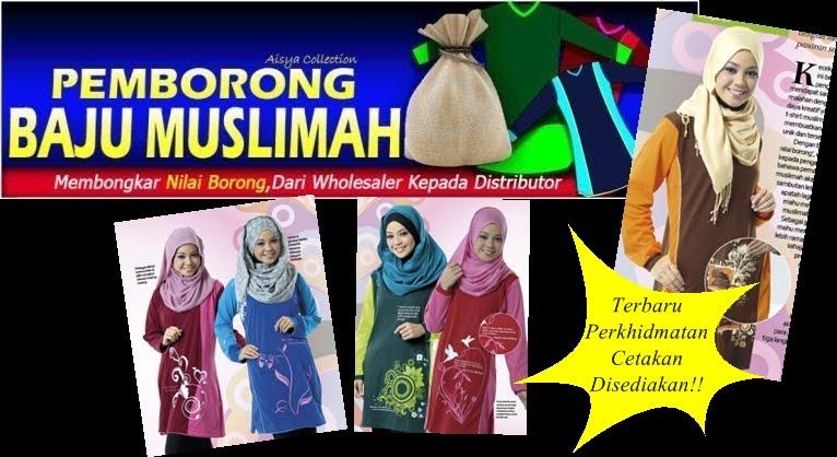 Pembekal Muslimah Shirt Aisya Collection
