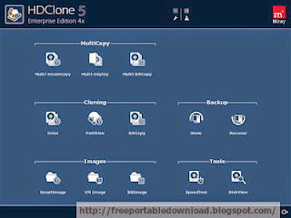 HDClone creates physical or logical copies (clones) and file images of hard disks and other mass storage media
