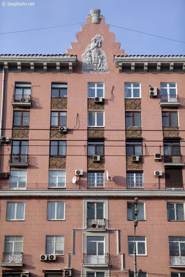сталинский ампир в москве