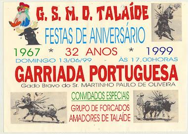 GARRAIADA PORTUGUESA 1999