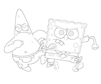 #2 Patrick Star Coloring Page