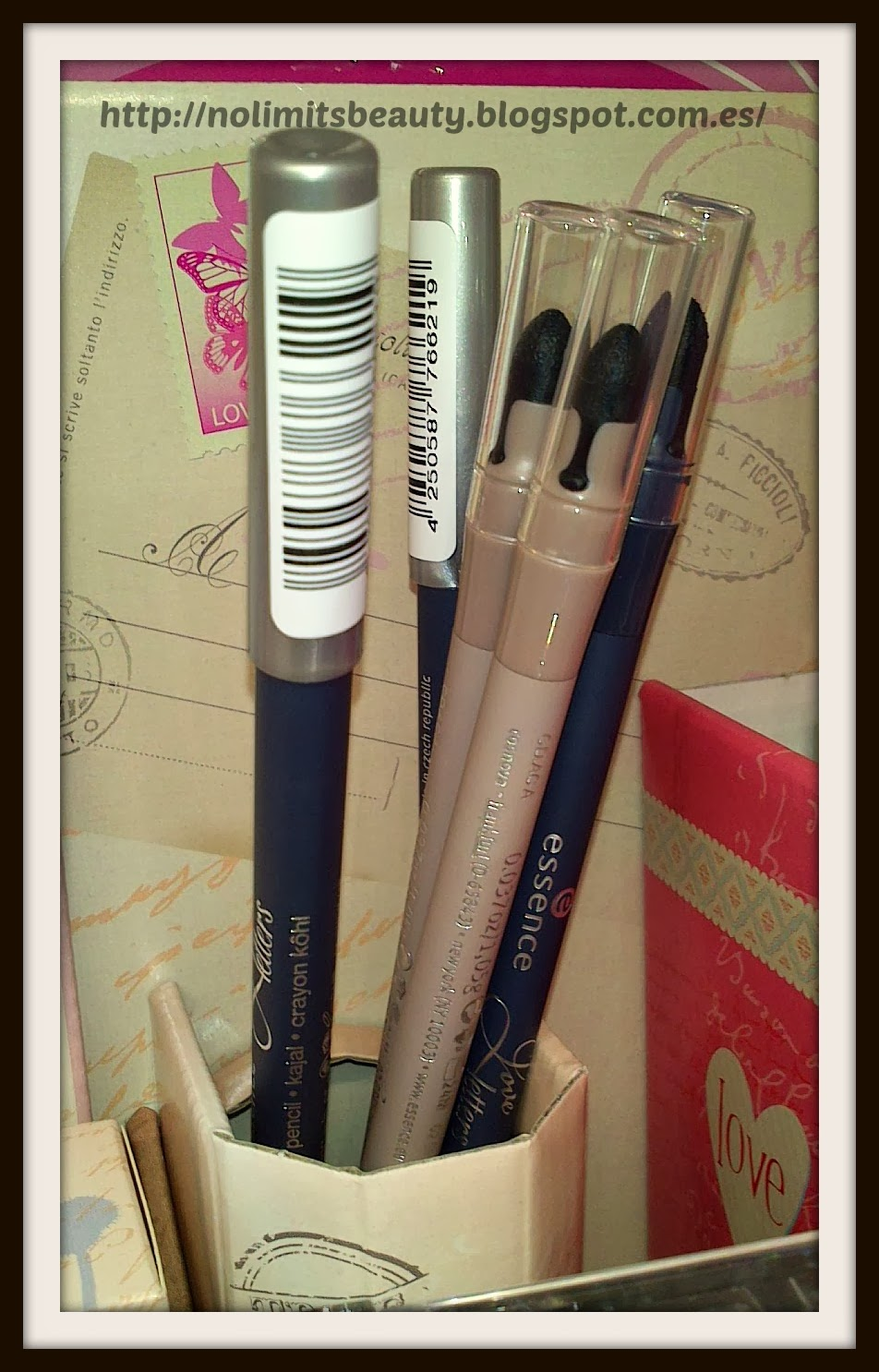 Essence Love Letters: Duo Eye Pencil