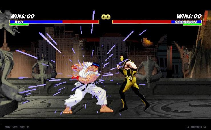 لعبة القتال الرائعة mortal kombat vs street fighter مجانا وحصريا تحميل مباشر MORTAL+KOMBAT+VS+STREET+FIGHTER+1