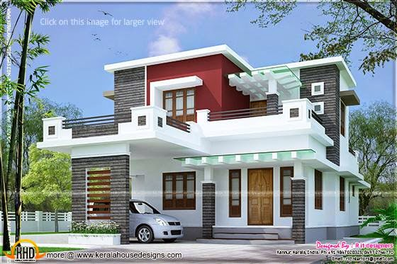 Contemporary house Kannur