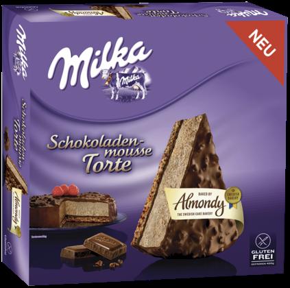 Milka Schokoladen Mousse-Torte von Almondy, glutenfrei ... Almondy