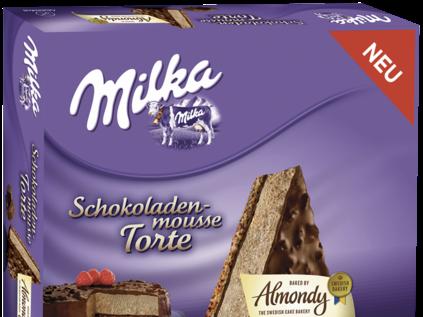 Milka Schokoladen Mousse-Torte von Almondy, glutenfrei!