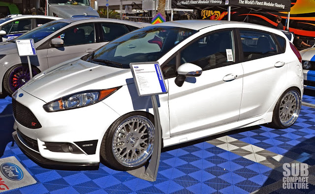 Super Clean Fiesta ST