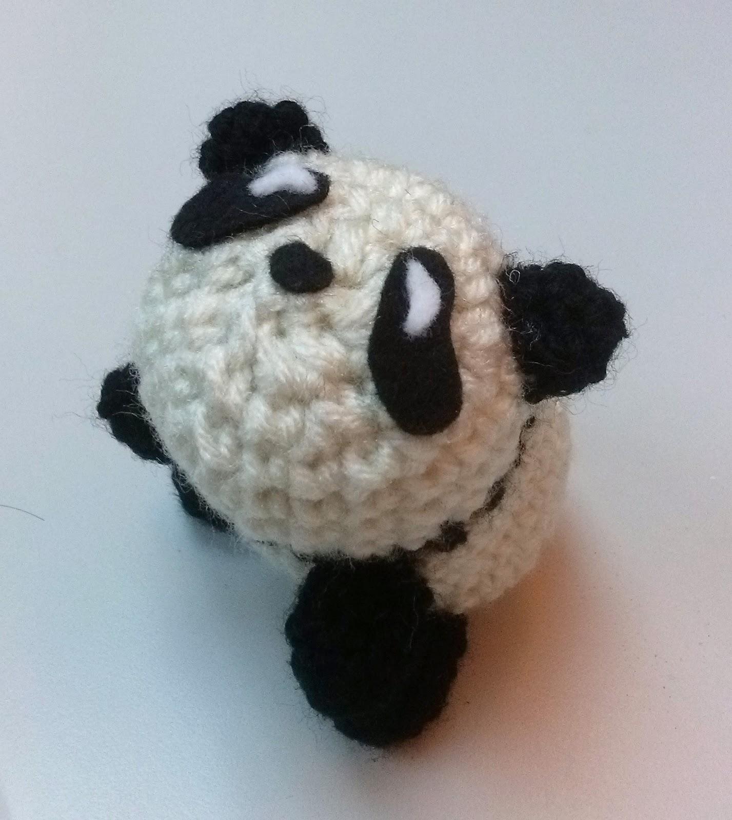 Expattern: Go Adopt Panda Baby Bear - Free Crochet Pattern ...