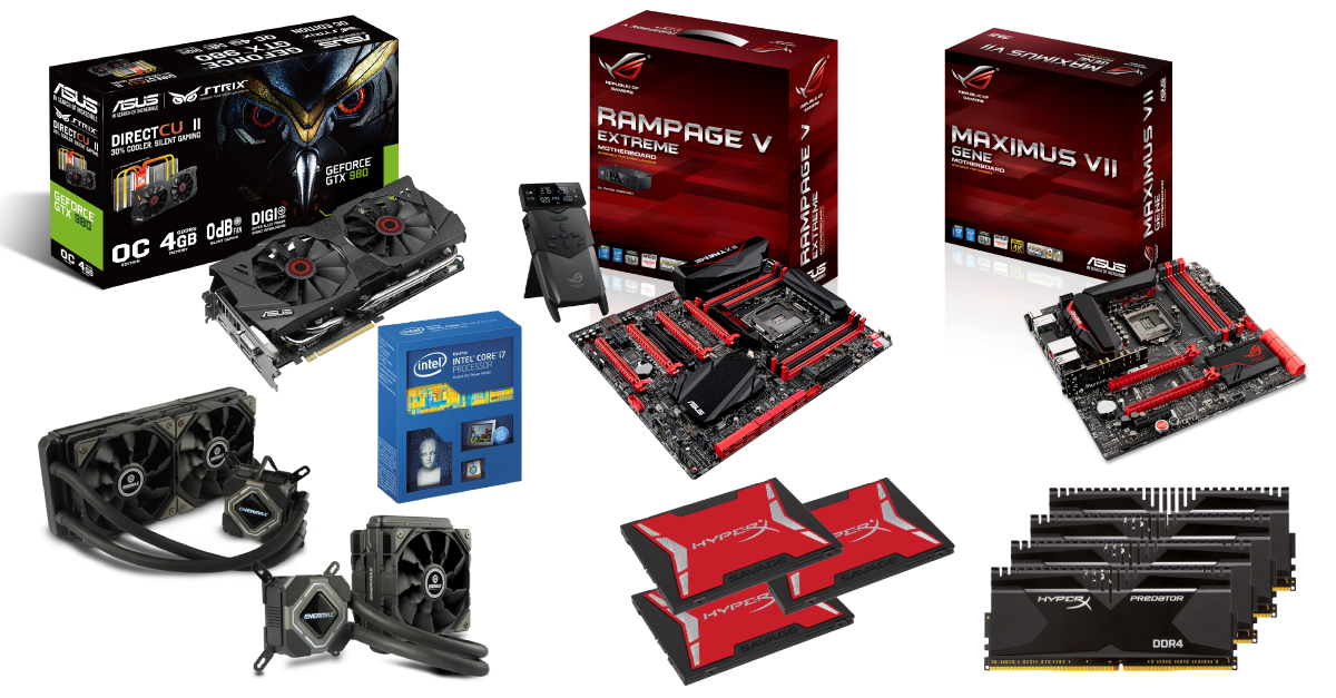 ASUS ROG OC Showdown 2015 Formula Series R2 Prizes