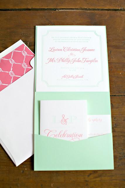 Nantucket Destination Wedding Invitation