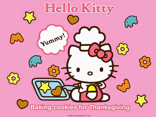 182930-Hello Kitty Baking Cookies For Thanksgiving HD Wallpaperz