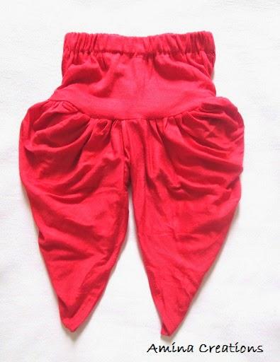 Amina Creations How To Stitch A Dhoti Pant Salwar