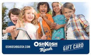 OshKosh B'gosh gift card