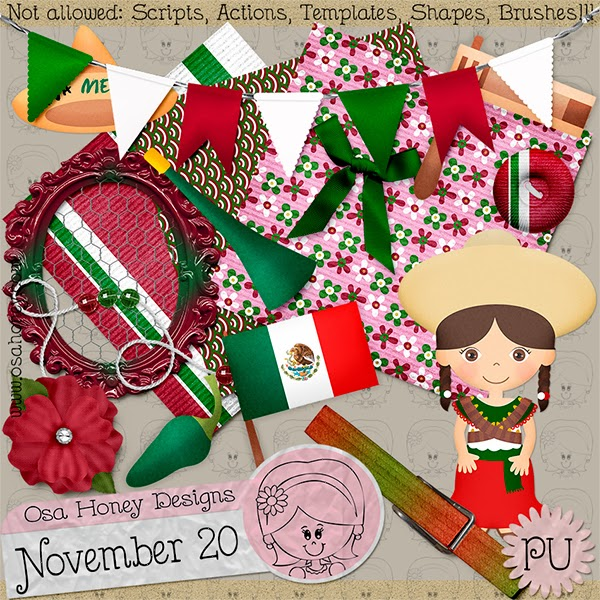 November 20 - Mini kit on FB!