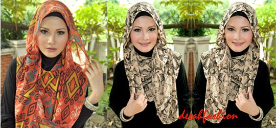 Jilbab Etnik Bold Trend Jilbab 2014