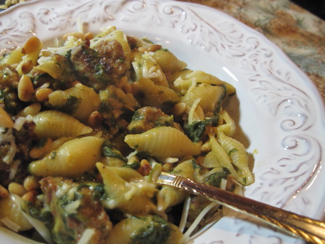Pumpkin and Sausage Pasta Recipe