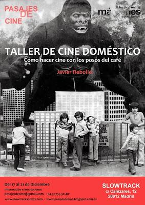 Cine Doméstico. Cómo hacer cine con los posos del café Javier Rebollo