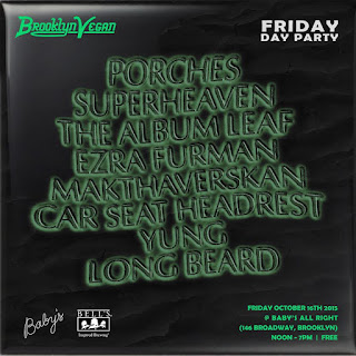 Friday Brooklyn Vegan day party lineup
