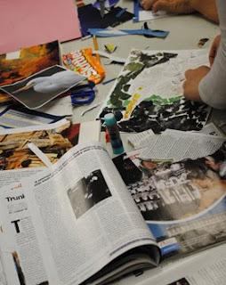 Megan Coyle Collage Workshop