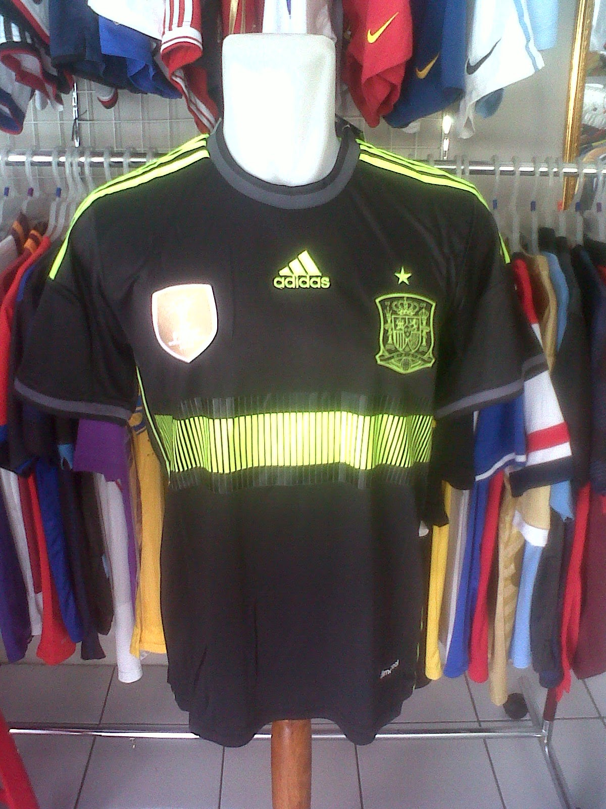 Jersey Spanyol Away 2014 FIFA World Cup Brazil™