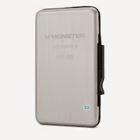 Unità SSD Thunderbolt OverDrive da 480GB di Monster Digital per Mac e Win