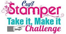 Guest Designer Craft Stamper Magazine