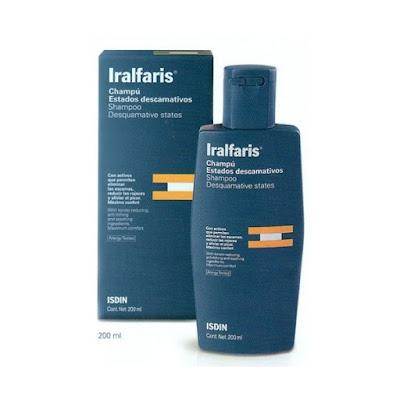 ISDIN IRALFARIS CHAMPU soluciona con éxito los estados descamativos del cuero cabelludo en pacientes con psoriasis
