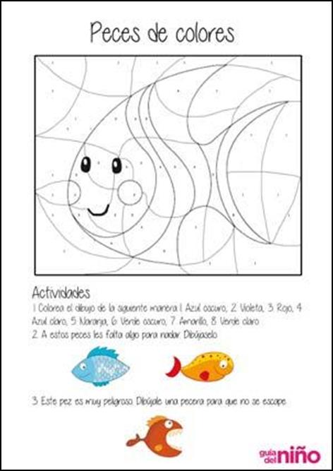 Dibujos Para Colorear Con Clave De Numeros ~ Ideas ...