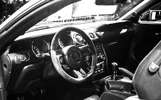 Interior Mustang Shelby GT350