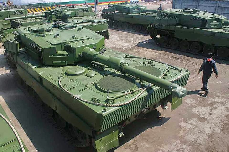 Tank Leopard Indonesia