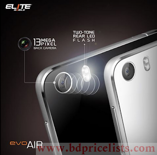 Elite Evo Air Specifications and price in Bangladesh