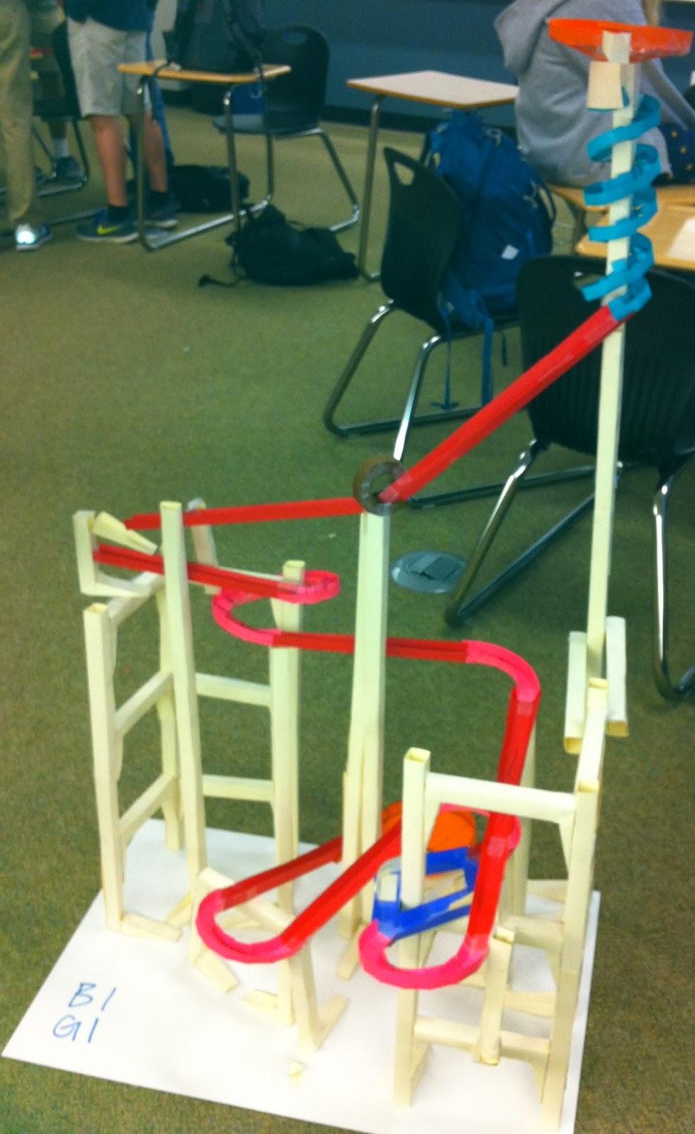 Roller Coaster STEM activity | mrseteachesmath.blogspot.com