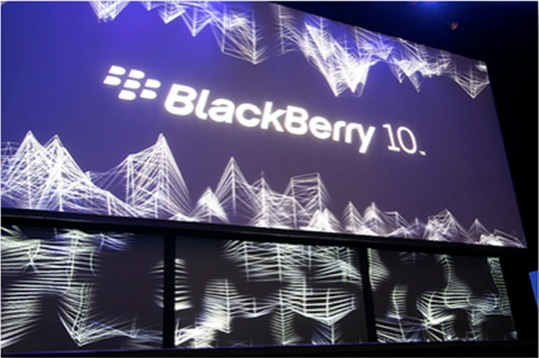 BlackBerry 10 Launching event