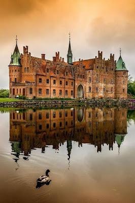 Castelo de Egeskov - Ilha de Funen, Dinamarca