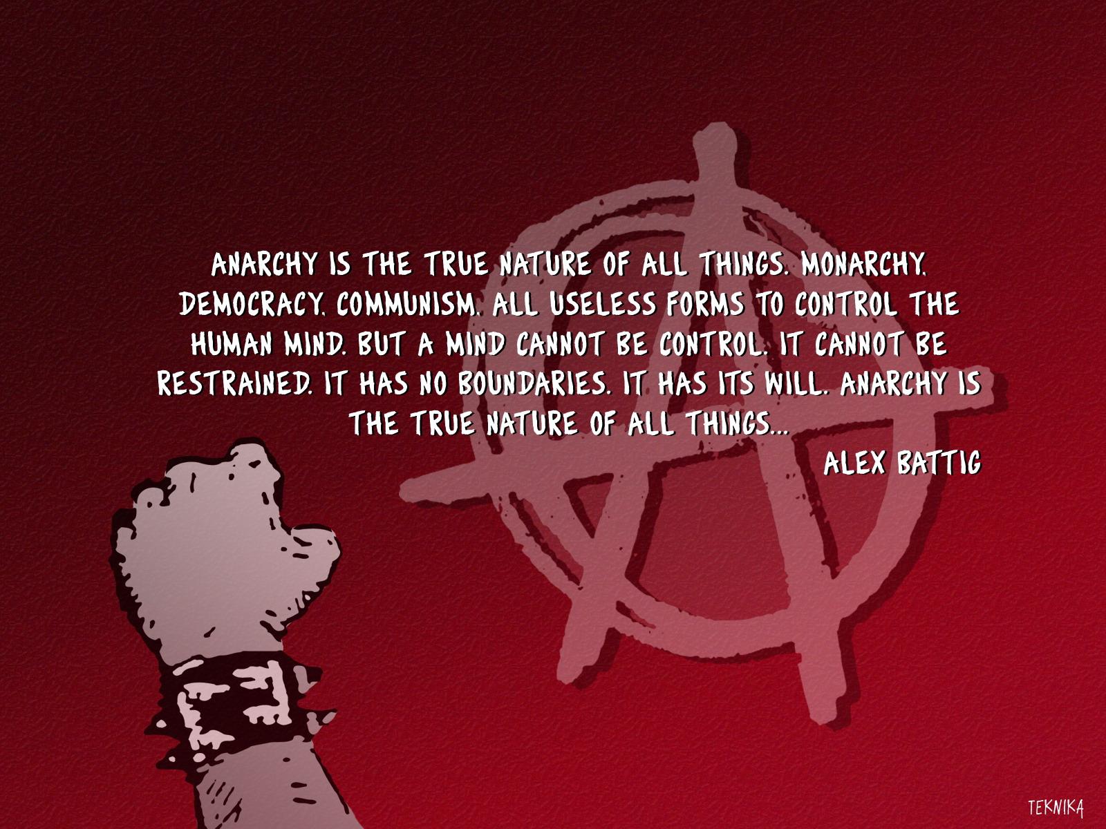 Anarchism Today Plain Putzsky