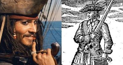 Rackham adalah seorang bajak laut pada abad ke 18 yang mengenakan