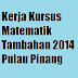 Contoh Jawapan Kerja Kursus Matematik Tambahan 2014 Pulau Pinang