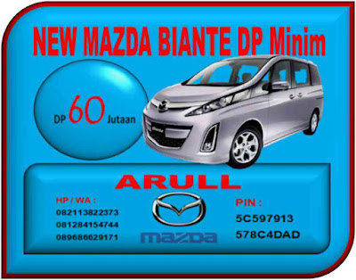 NEW MAZDA BIANTE DP MINIM