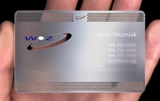 6 creative metal business cards for 6 business metal wood business metal business card reheart Image collections