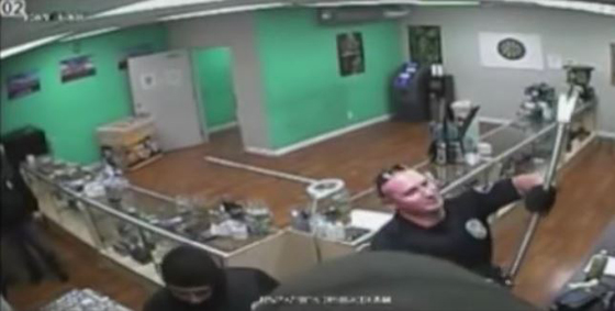 Knucklehead Cops: They were video taped breaking surveillance cameras — They missed one.