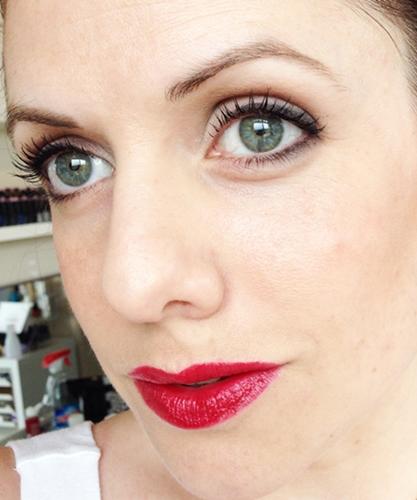 Red lip FOTD