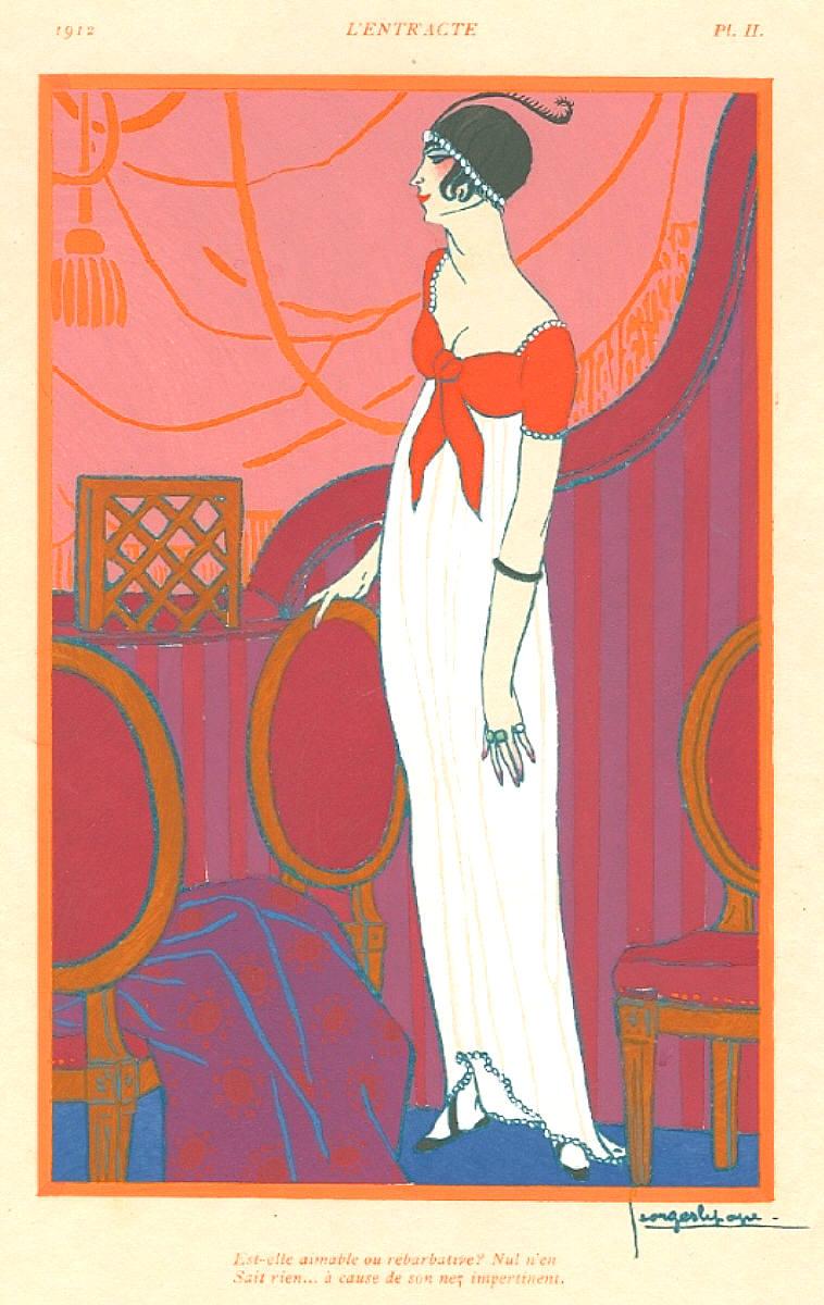 An illustrator 39 s inspiration other art deco fashion for Art deco illustration