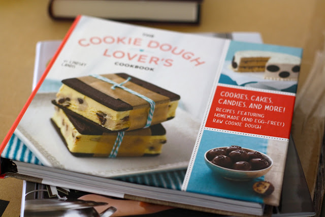 cookie dough cookbook, cookie dough lovers cookbook